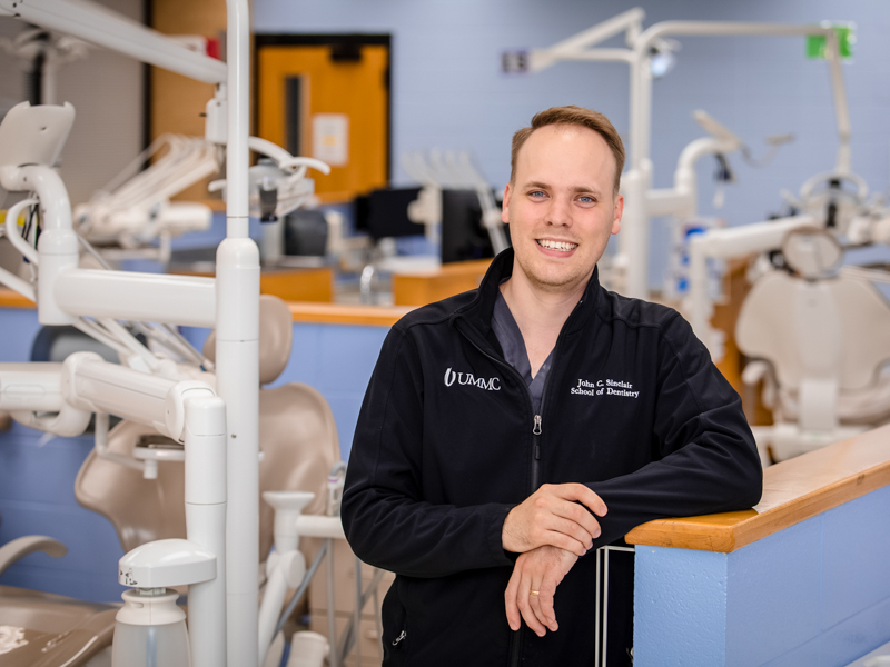 John Sinclair is a 2021 graduate of the School of Dentistry.