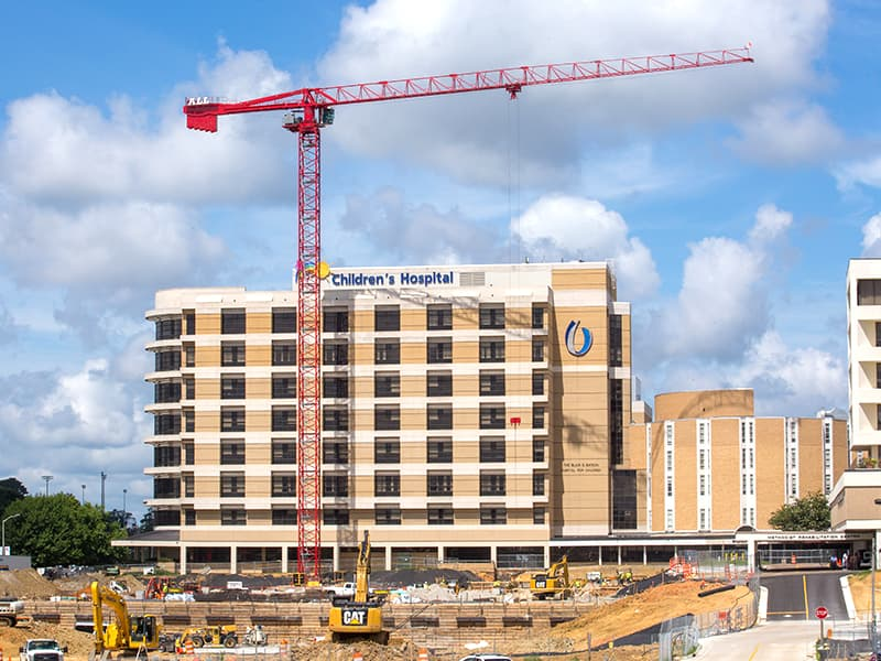 Increasing capacity central to UMMC's ongoing construction