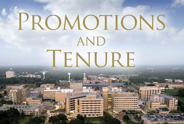 Promotion and tenure