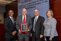 Mike Ryan receives IHL Diversity Educator of the Year Award