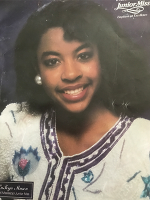 LaToya Mason Bolden in 1994 as a Junior Miss contestant