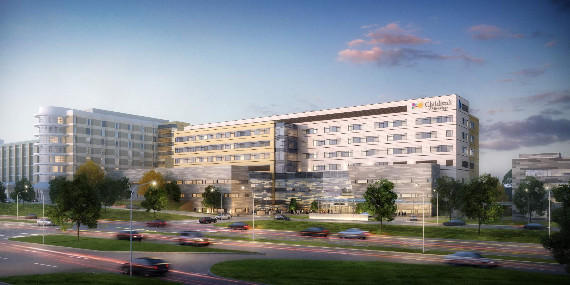 Rendering of the Children's Hospital Expansion Project