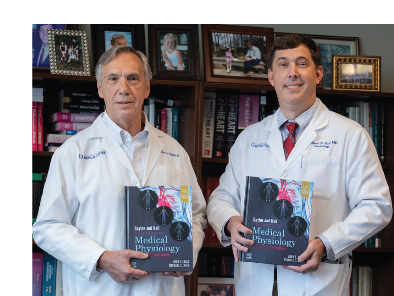 Portrait of Drs. John and Michael Hall